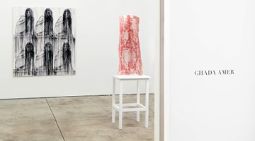 Contemporary art exhibition, Ghada Amer, Ghada Amer at Cheim & Read, New York