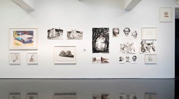 Contemporary art exhibition, Ben Quilty, Drawing at Tolarno Galleries, Melbourne