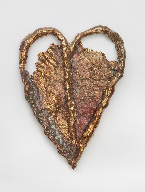 HEART (6880) by Sterling Ruby contemporary artwork
