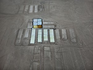 Salt Pans #10, Little Rann of Kutch, Gujarat, India by Edward Burtynsky contemporary artwork