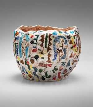 Vase (bowl shaped) by Stephen Benwell contemporary artwork