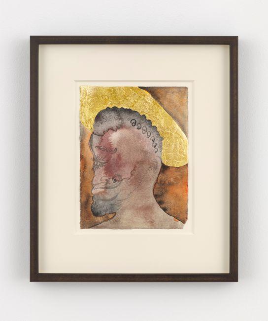 Untitled (Saint 8) by Chris Ofili contemporary artwork