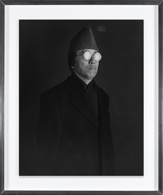 Distorted Universal Vision (Self-Portrait) by Hiroshi Sugimoto contemporary artwork