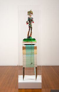 salad bowl #3 by Del Kathryn Barton contemporary artwork sculpture