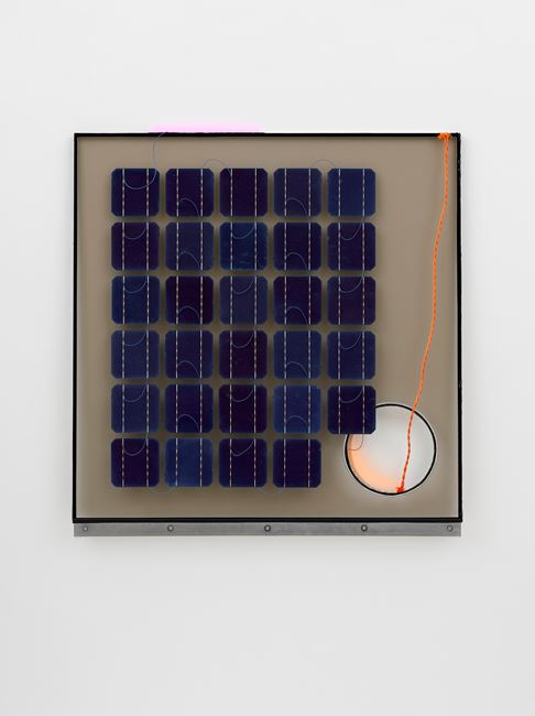 Solar Cell Circuit 8 Reconfigured by Haroon Mirza contemporary artwork