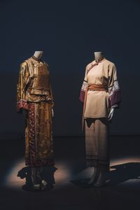 Costumes for the role of Yu Xiulian 俞秀蓮服裝 by Tim Yip contemporary artwork textile