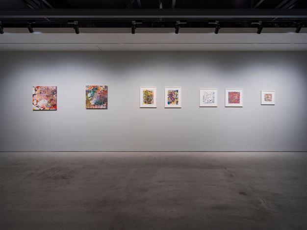 Exhibition view: Jackie Saccoccio, Knife Edge, The Club (24 October–16 December 2020). Courtesy The Club. Photo: Kei Okano.
