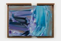 Open Sea, Stormy Weather / 潮水の波、真水の滝 by Kenjiro Okazaki contemporary artwork painting