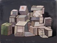 Song Zhuang  No.8 宋庄之八 by Wang Chuan contemporary artwork painting