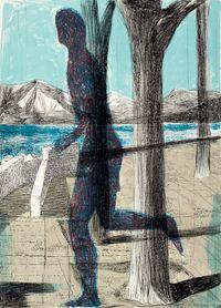 Latona 3 by Marc Desgrandchamps contemporary artwork print