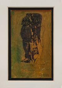 Carta da Gioco (Playing card) by Octav Grigorescu contemporary artwork mixed media