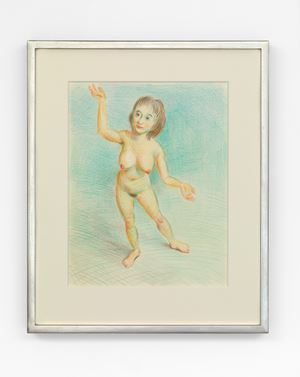 Untitled by John Currin contemporary artwork