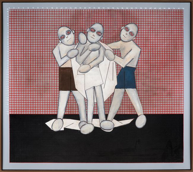 10. A.O.: Don't envy other people (getting undressed) by Thomas Zipp contemporary artwork