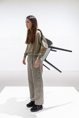 The Idiot I 白癡 I by Erwin Wurm contemporary artwork sculpture, performance