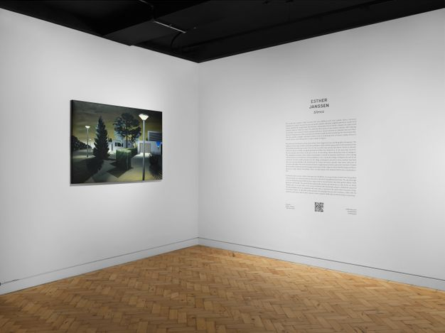 Exhibition view: Esther Janssen, Silence, Unit London (7 September–4 October 2021). Courtesy Unit London.