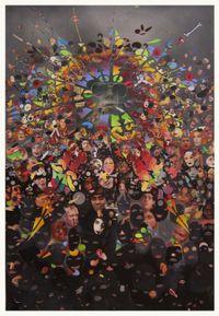 Untiteld (Tritych) by Nils Karsten contemporary artwork painting