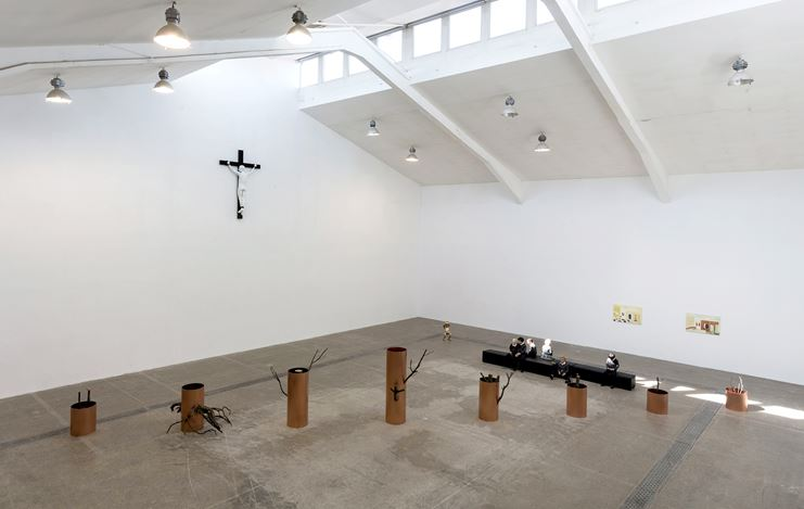 Exhibition view: Group Exhibition, WHO AM I, Tang Contemporary, Beijing (14 March–10 May 2020). Courtesy Tang Contemporary.
