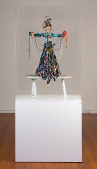 i am here to receive your fruit by Del Kathryn Barton contemporary artwork sculpture