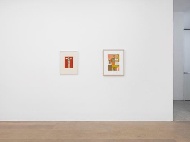 Exhibition view: Andrzej Wróblewski, David Zwirner, London (16 March–14 April 2018). Courtesy David Zwirner.