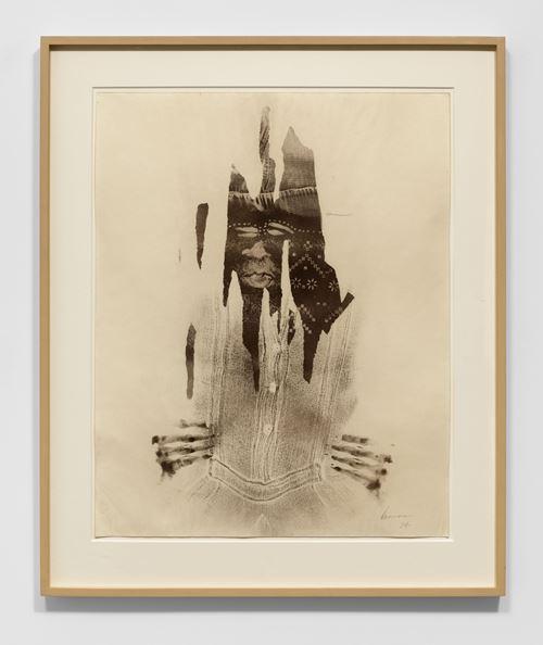 Body Print by David Hammons contemporary artwork
