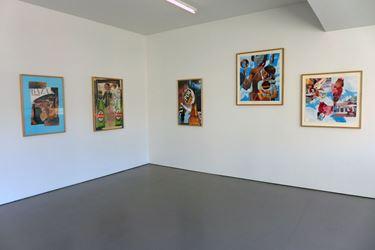 Exhibition view: Don Driver, Collages, Hamish McKay, Wellington (3 March—1 April 2017). Courtesy Hamish McKay.