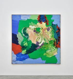 Visage-Paysage no.8 by Karel Appel contemporary artwork