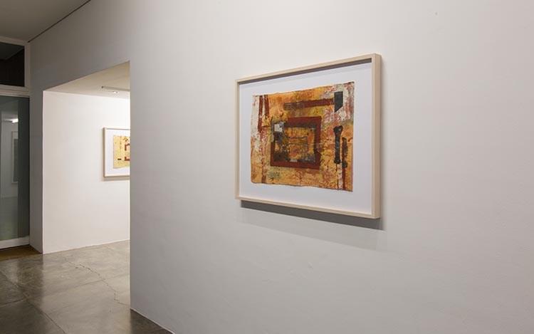Antonio Dias, 'Papéis do Nepal,' 2016, Exhibition view, Galeria Nara Roesler, São Paolo. Courtesy Galeria Nara Roesler, São Paolo.