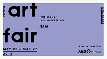 Contemporary art exhibition, Auckland Art Fair 2018 at Neon Parc, Melbourne