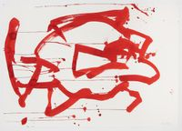 Ocean Drawing 4 by Joan Jonas contemporary artwork painting, works on paper, drawing