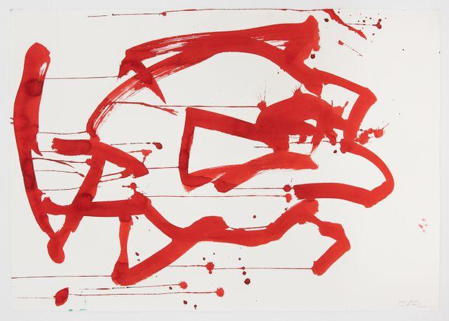 Ocean Drawing 4 by Joan Jonas contemporary artwork