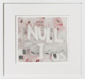 nullius (II) by Fiona Hall contemporary artwork painting