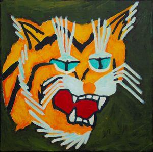 Tiger Force Member #2 by Farhad Farzaliyev contemporary artwork painting