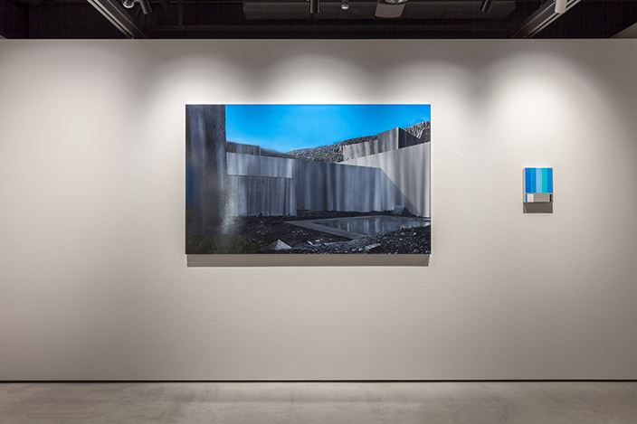 Exhibition view: Naoya Inose, Blue, THE CLUB, Tokyo (1-30 December 2018). Courtesy THE CLUB.