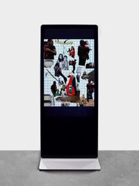 Untitled #7 (Political Collage) by Catherine Opie contemporary artwork moving image