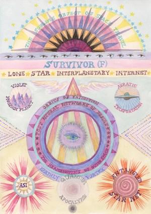 Survivor (F)/Lone Star by Suzanne Treister contemporary artwork
