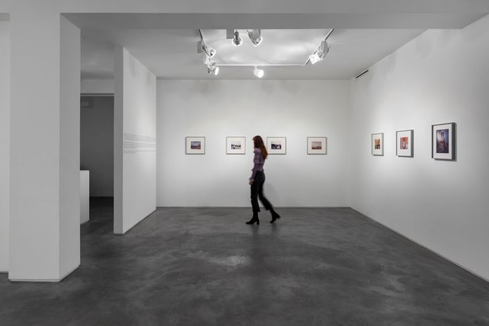 Exhibition view: Paul Graham, A1, Huxley Parlour, London (28 October–18 December 2020).Courtesy Huxley-Parlour.