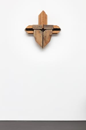 Cross by Roman Ondak contemporary artwork