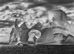 Iceberg between Paulet Island and the South Shetland Islands in the Weddell Sea, Antarctic Peninsula by Sebastião Salgado contemporary artwork