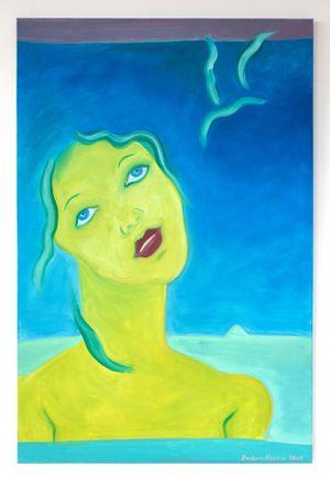 Sweet Sue Dreaming by Barbara Nessim contemporary artwork
