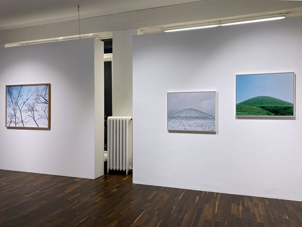 Exhibition view: Group Exhibition, Land_Scope, Christophe Guye Galerie, Zurich (28 November 2019–25 January 2020). Courtesy Christophe Guye Galerie.
