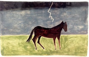Horse, Lightning by Noel McKenna contemporary artwork