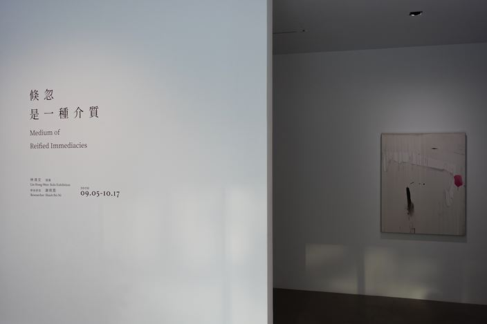 Exhibition view: Lin Hong-Wen,Medium of Reified Immediacies, Double Square Gallery, Taipei (5 September–17 October 2020). Courtesy Double Square Gallery, Taipei.