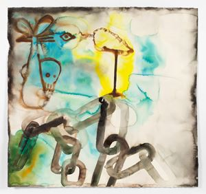 Chain by Francesco Clemente contemporary artwork