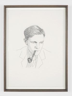 Kim Philby by Lucy McKenzie contemporary artwork