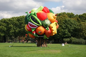 Fruit Tree by Choi Jeong Hwa contemporary artwork