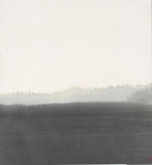 Untitled (Landscape) 無題山水 by Lee An-cheng contemporary artwork