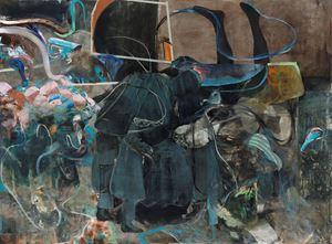 The Impressionists by Adrian Ghenie contemporary artwork