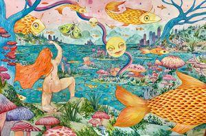 O The Fool by Charlotte Mui Ngo-Suet contemporary artwork