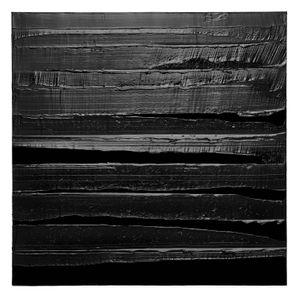 Peinture 130 x 130 cm, 10 octobre 2019 by Pierre Soulages contemporary artwork painting