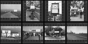 Public Interventions (Studies on Happiness: 1979-1981) by Alfredo Jaar contemporary artwork